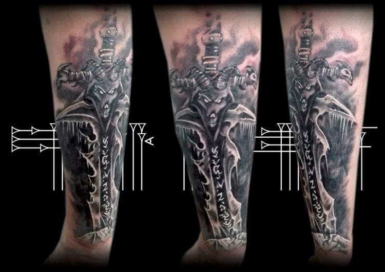 Warkraft Tattoo