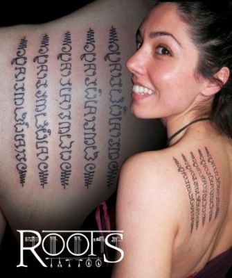 Exotic Tattoo Female