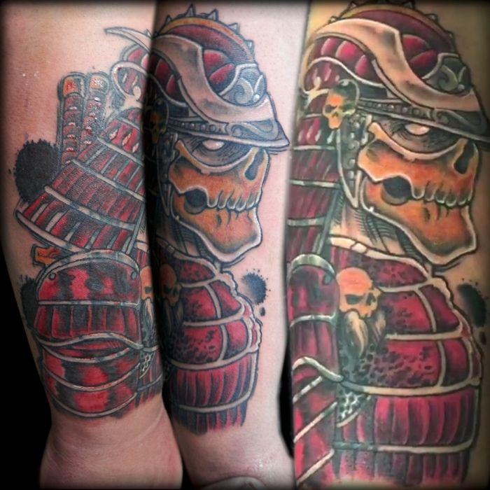 Samurai Demonio oriental