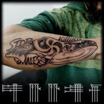 animalist tattoo