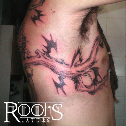 Cuerpo hombre tatuado Granada