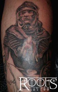 Tatuaje soldado antiguo