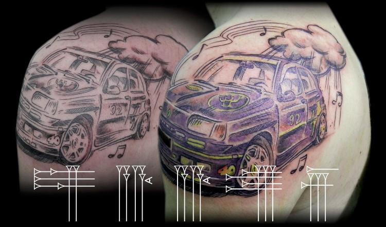 Tatto del mundo del motor