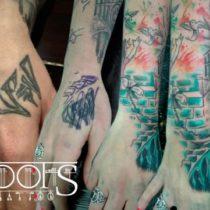 Como tapar un tatuaje en la mano