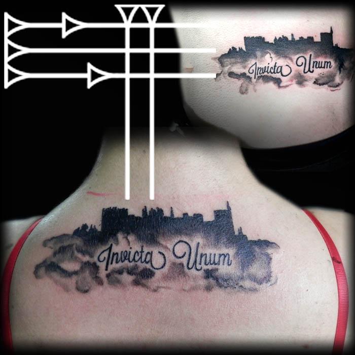 Tatuaje de novios Alhambra