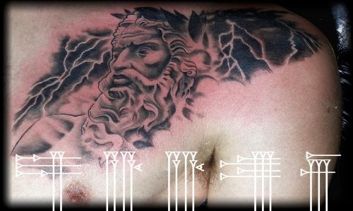 Tatuaje Dios Júpiter
