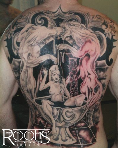 Espalda completa
