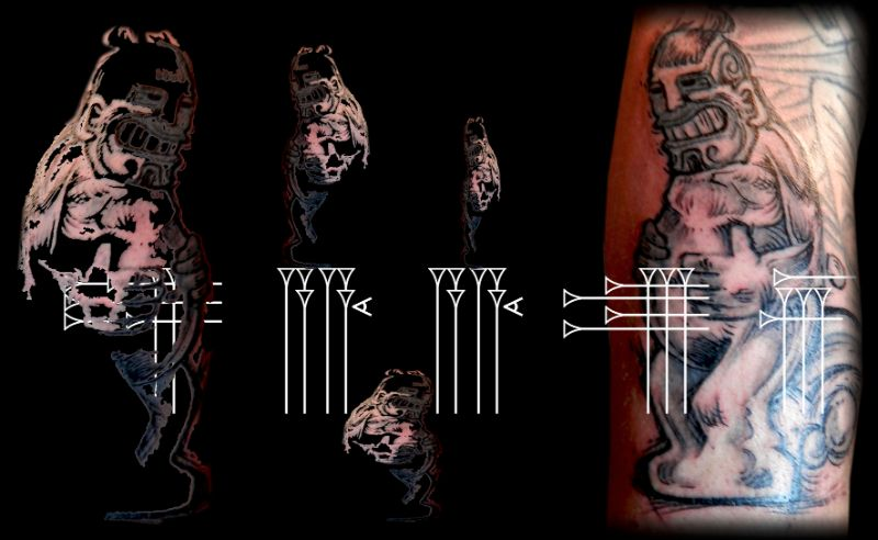 Tatuaje gracioso
