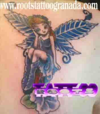 Fantasy Tattoo Fairy