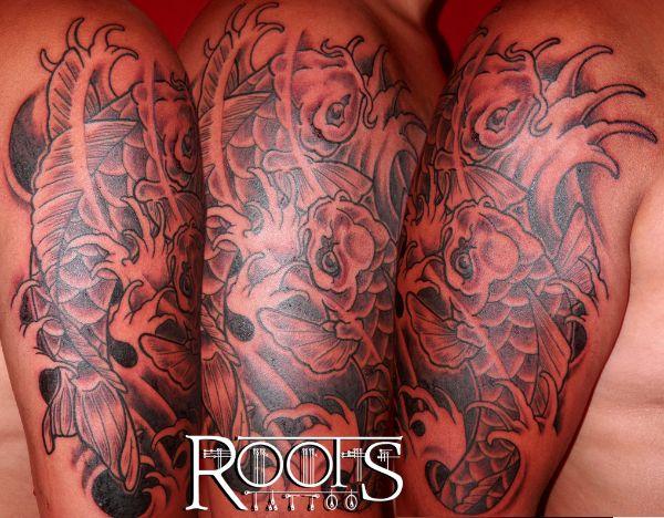 Ejemplos de tatuaje japonés para brazo