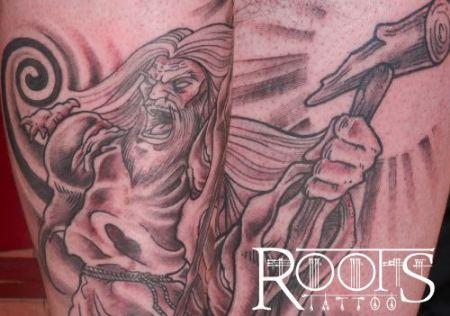Gandalf Tattoo