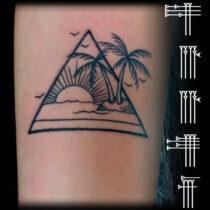 paisaje tatuado
