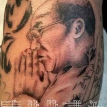 Retrato Dalai Lama