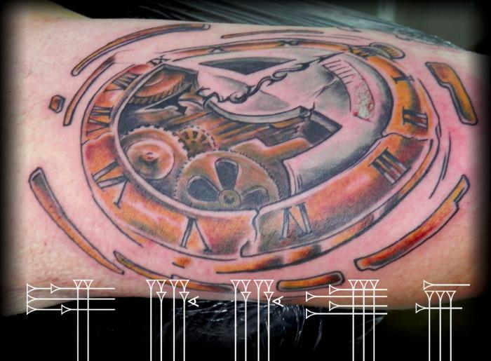 Tattoo clock