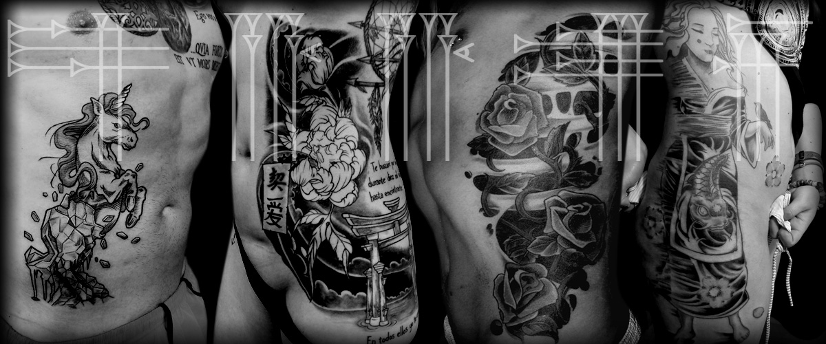 Tattoos en las costillas