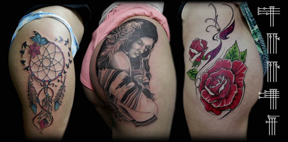 Tattoos en las nalgas
