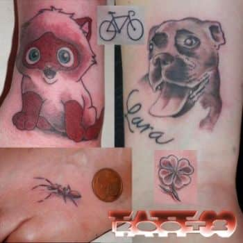 Tatuajes muy pequeños, diminutos