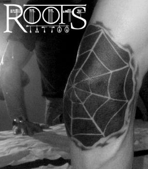 Tattoo en negativo