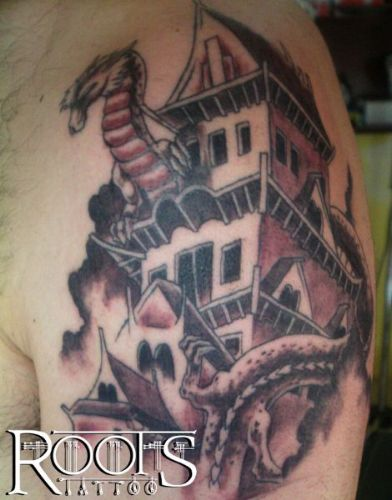 Tattoo con sombras