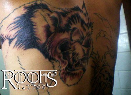 Tatuaje tigre dugo