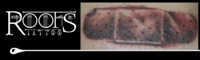 Tatuaje realista gracioso