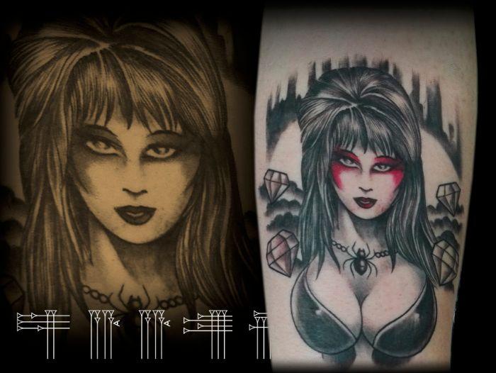 Tattoo retro tv
