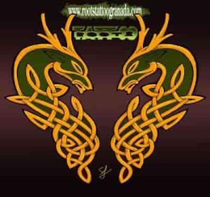Ciervos místicos celtas